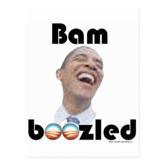 Bamboozled by Obama Postcard