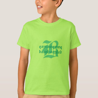 Bamboozled Girls Cotton T-Shirt- Lt. Green T-Shirt