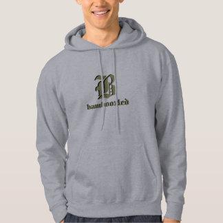 Bamboozled Men's Cotton Hoodie- Grey/Olive Gr Hoodie