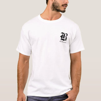Bamboozled Men's Sleeveless T-Shirt-  White/Black T-Shirt
