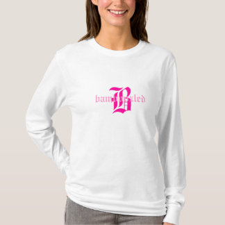 Bamboozled Women's Cotton Hoodie Shirt- White/Pink