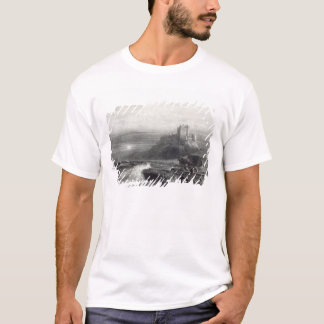 Bamborough Castle, engraved by S. Bradshaw T-Shirt