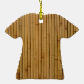 Bambú-Amarillo Ornaments Para Arbol De Navidad