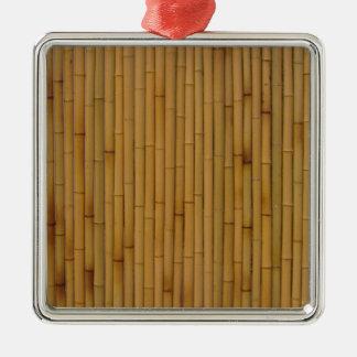Bambú-Amarillo Ornamentos De Reyes Magos
