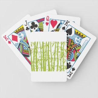 Bambú Baraja Cartas De Poker
