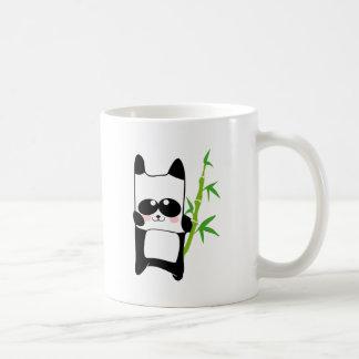 bambú de la panda taza
