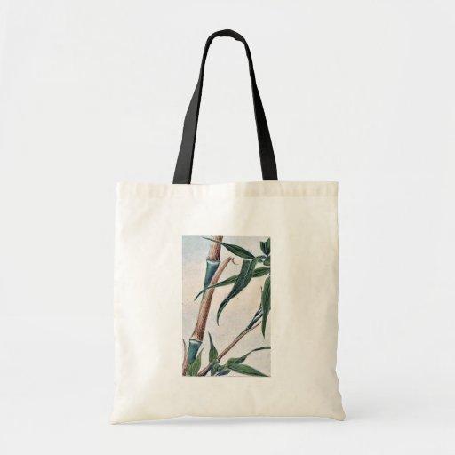 Bambú de la toma/Megata Ukiyo-e. Bolsa