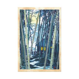 Bambú de Shiro Kasamatsu en arte del comienzo del  Lona Envuelta Para Galerías