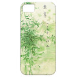 Bambú del vintage iPhone 5 protector
