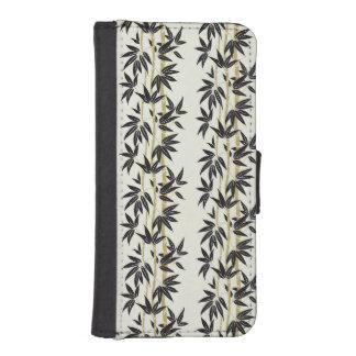 Bambú Fundas Billetera De iPhone 5