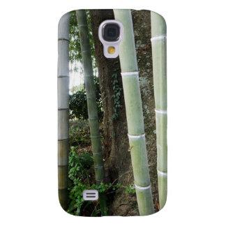 Bambú grande funda para samsung galaxy s4