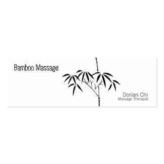 Bambú japonés del jardín tarjeta de visita