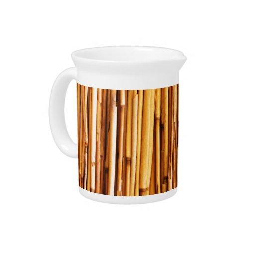 Bambú Jarra De Beber