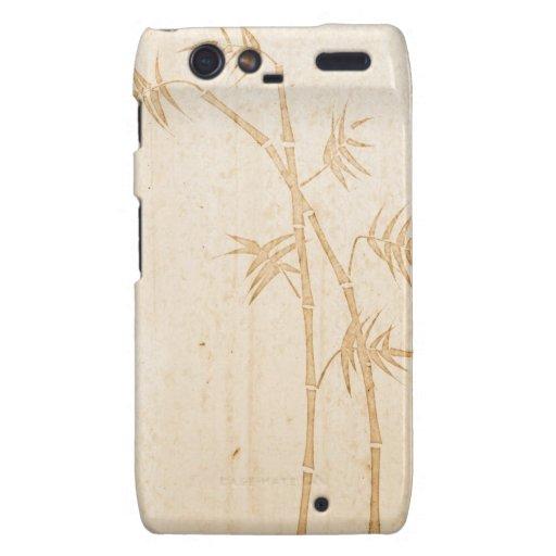 Bambú Motorola Droid RAZR Funda