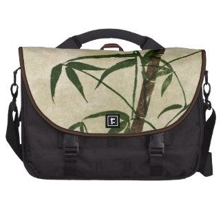Bambú oriental 1 del vintage bolsas de portátil