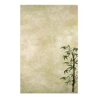 Bambú oriental 1 del vintage  papeleria