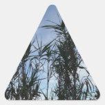 Bambú Pegatinas Trianguloes