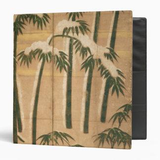 "Bambú, período de Momoyama Carpeta 1 1/2"""