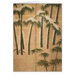 Bambú, período de Momoyama Felicitación