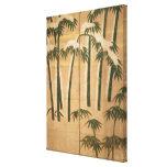 Bambú, período de Momoyama Impresión En Tela