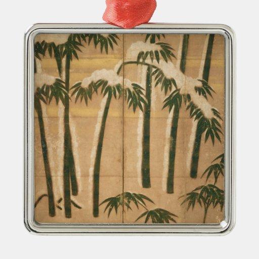 Bambú, período de Momoyama Ornamentos De Navidad
