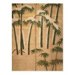 Bambú, período de Momoyama Postales