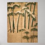 Bambú, período de Momoyama Poster