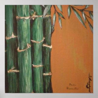 Bambú Póster