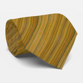 Bambú: Rayas amarillas Corbatas