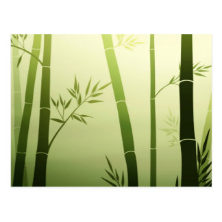 Bambú Tarjeta Postal