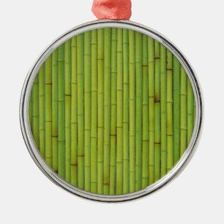 Bambú-Verde Adorno De Navidad