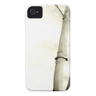 Bambú y hojas iPhone 4 Case-Mate cárcasa