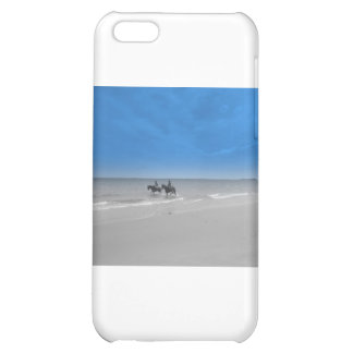 bamburgh beach cover for iPhone 5C