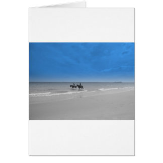 bamburgh beach greeting cards