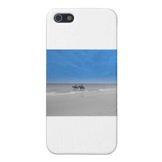 bamburgh beach iPhone 5 cases