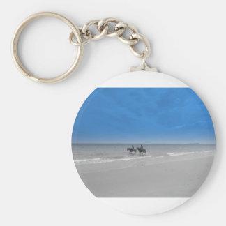 bamburgh beach keychains