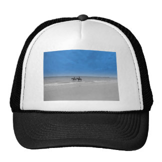 bamburgh beach mesh hat
