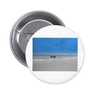 bamburgh beach pinback buttons