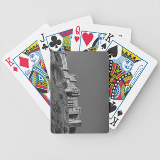 Bamburgh Castle, Northumberland Bicycle Playing Cards