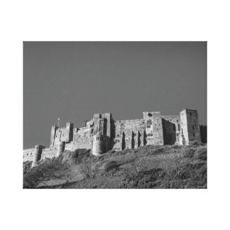 Bamburgh Castle, Northumberland Canvas Print