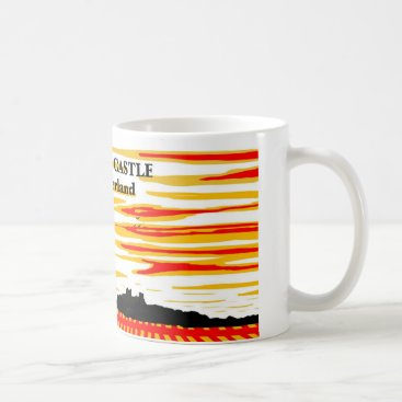Bamburgh Castle Northumberland Coffee Mug