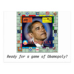 bamopoly, Ready for a game of Obamopoly? Post Card