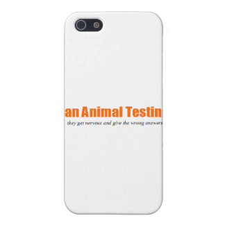 Ban Animal Testing! Funny Animal Rights Parody iPhone 5 Cases