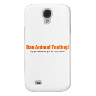 Ban Animal Testing! Funny Animal Rights Parody Samsung S4 Case