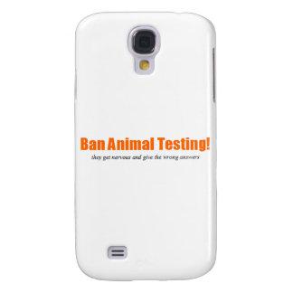 Ban Animal Testing! Funny Animal Rights Parody Samsung S4 Case