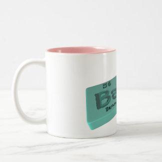 Ban  as Ba Barium and N Nitrogen Coffee Mugs