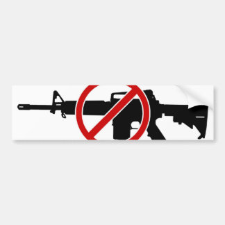 Ban Assault Rifles NOW! Bumper Sticker