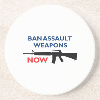 Ban Assault Weapon Drink Coasters