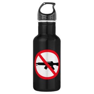 Ban Assault Weapons 18oz Water Bottle