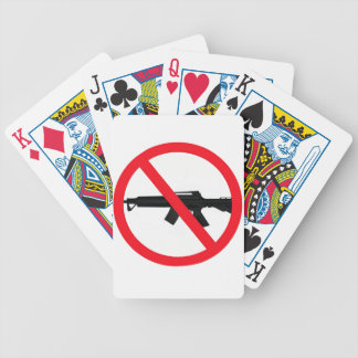 Ban Assault Weapons Bicycle Playing Cards